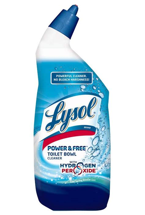 Lysol Power Free Bathroom Cleaner by Lysol Hydrogen Peroxide Toilet Bowl Cleaner