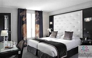 35 affordable black and white bedroom ideas bedroom With une chambre a coucher