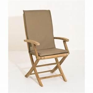 Coussin Fauteuil Jardin : coussin de fauteuil de jardin imperm able bronze 101x3x48 walter pier import ~ Teatrodelosmanantiales.com Idées de Décoration