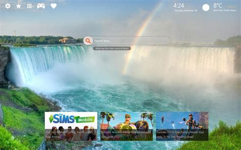 Fall Chrome Backgrounds by Niagara Falls Wallpapers For Chrome What Does The Word
