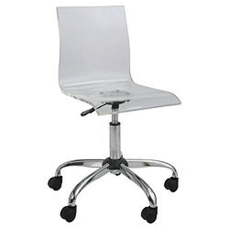 lotus acrylic clear home office chair swivel seat amazon