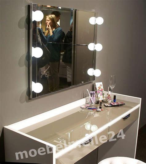 schminktisch mit licht staud sinfonie plus schminktisch frisiertisch wei 223 spiegel mit beleuchtung ebay