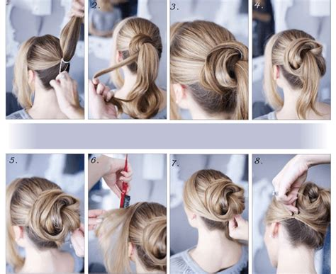 34 Step By Step Tutorials To Get The Perfect Messy Bun! French Twist Shoulder Length Hair Pictures Of Long Bob Hairstyles How To Use Bun Ring Donut Shaper Mens Short Haircut Pics Cute And Easy Updo Nice With Highlights Get Waves In Your At Home Do A Messy For Medium Layered