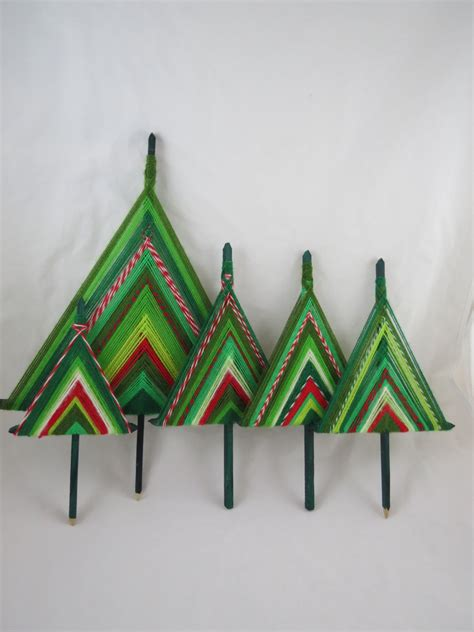gods eye christmas tree set