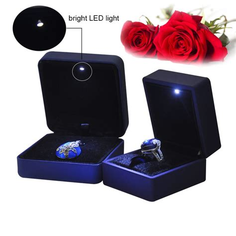 Ring Box With Light by Led Jewelry Box Led Ring Box Jewelry Box With Led Light