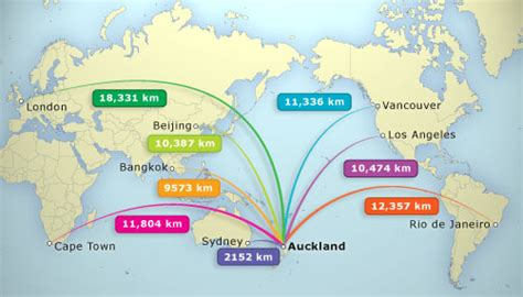 trading nz new zealand s distance from trading partners economy