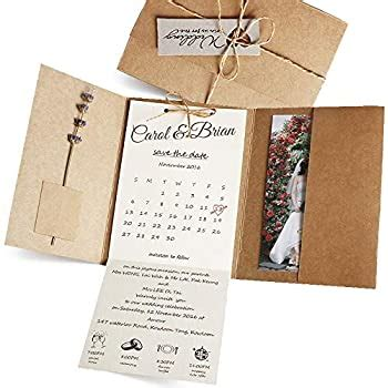 Amazon com: Pop up Wedding Invitation Pocket Folds with