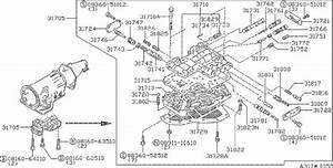 Datsun 620 Bolt  Transmission  Automatic  Case