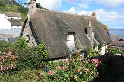 Cottages St Ives Cornwall Cadgwith Wie In Einem Rosamunde