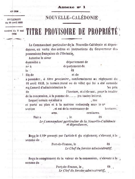 le cri du cagou la r 233 partition du pays en 1850