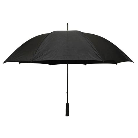 decorations for a kitchen firm grip 5 ft golf umbrella in all black 38124 the