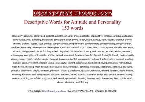 28 personality description for resume personal strengths