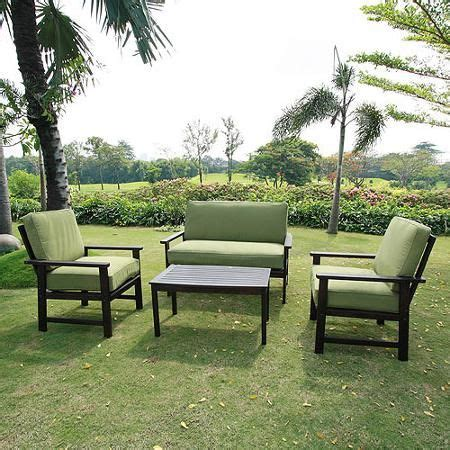 delahey 4 patio conversation set brown seats 4 patio and the o jays