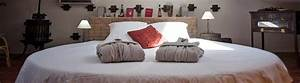 chambres d39hote lit rond matelas a eau piscine spa var With chambre design avec biotex matelas