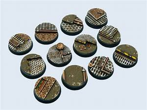 Micro, Art, Studio, Tech, Round, 25mm, Miniature, Wargaming, Bases