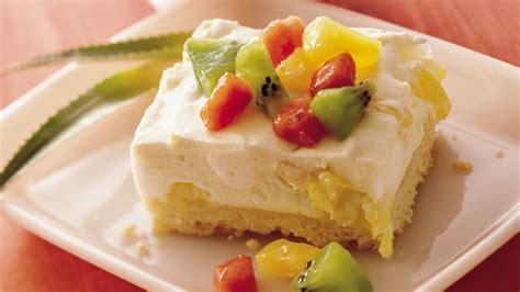 light dessert recipes light and tropical dessert recipe pillsbury