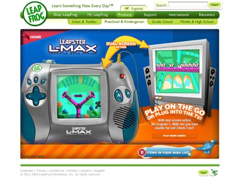 leapfrog leapster world kevin hsieh product design leadership