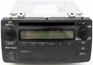 2003-2004 Toyota Corolla Factory Radio Cd Player