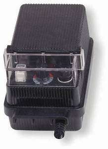 Kichler landscape v transformer automatic timer black material traditional