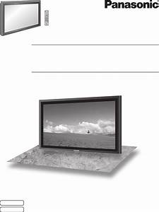 Panasonic Flat Panel Television Th 50ph9uk User Guide