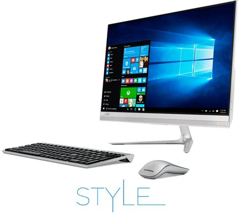 ordinateur de bureau intel i7 lenovo ideacentre aio 510s 23 quot touchscreen all in one pc