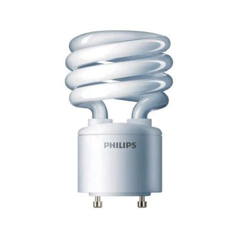 philips 75w equivalent bright white 4100k spiral gu24