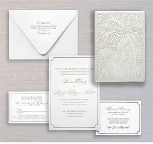 luxury wedding invitations by ceci new york luxe beach With wedding invitations west palm beach florida