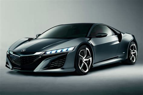 2015 Acura Nsx Concept Front Three Quarters View Photo 2