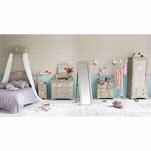 Tete De Lit Maison Du Monde : chambre avec la collection camille de maison du monde ~ Melissatoandfro.com Idées de Décoration