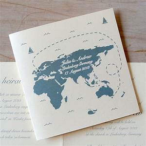 Destination wedding invitation little flamingo for 2 language wedding invitations