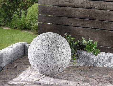 Garten Deko Granit by Deko Kugel Granit