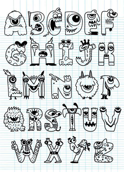 halloween alphabet   lettering alphabet fonts