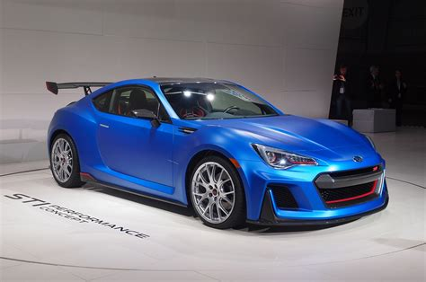 subaru sti subaru brz sti performance concept debuts at new york auto