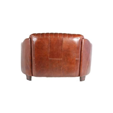 canape cuir marron canape 2 places en cuir marron vintage