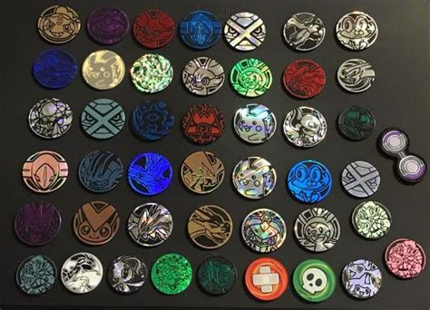pokemon tcg  random mixed official coin lot brand