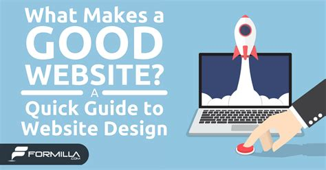 what makes a architect what makes a good website a quick guide to website design formilla