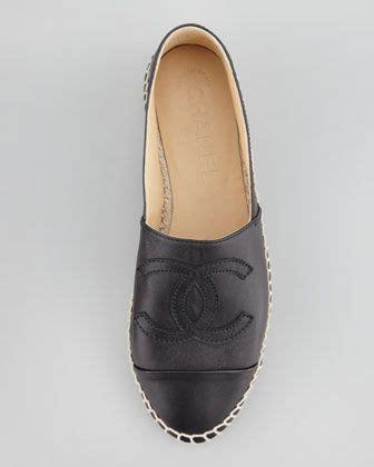 foto de CHANEL Leather Espadrille Flat Espadrilles Leather