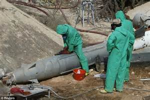 Libyan military engineers face toxic chemical clouds as ...