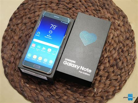 samsung galaxy note fan edition unboxing and impressions phonearena reviews