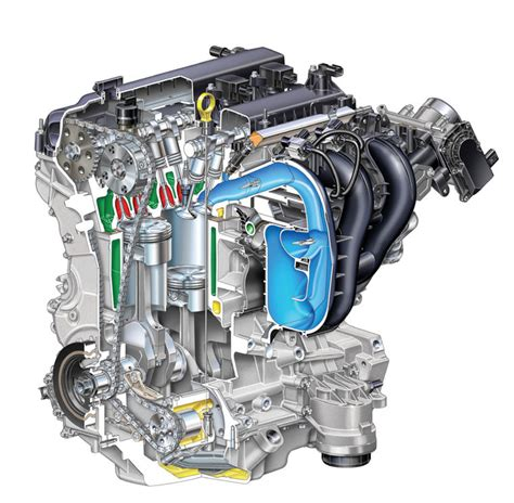 ford fusion   cylinder duratec engine picture