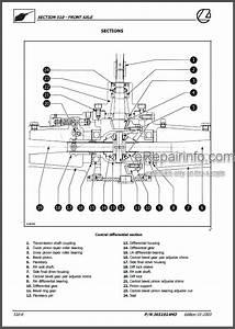 Landini Mistral 40 45 50 Training Repair Manual Tractors