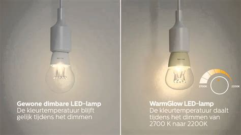 maak kennis met philips warmglow led len youtube