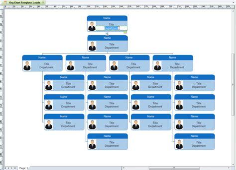organization chart template excel shatterlioninfo