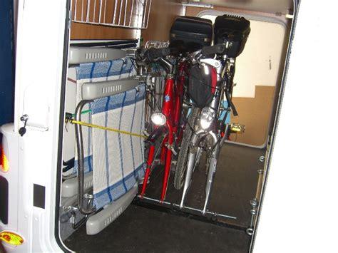 richtiger transport von fahrraedern  der heckgarage