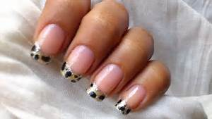 French tip nail art designs acrylic