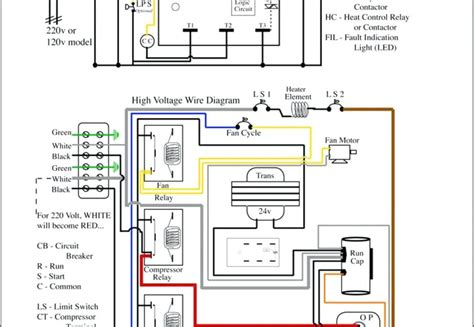 inspirational air conditioner wiring diagram pdf lovely