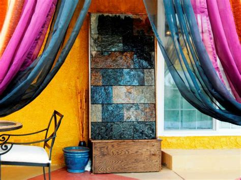 diy indoor waterfall how to make a slate water wall feature hgtv 3393