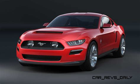 2015 Ford Mustang Sketches That Led To