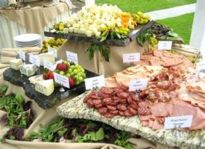 wedding appetizer ideas weddings at eagle golf course
