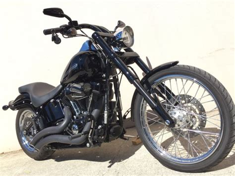 Davidson Front End by 2013 Harley Davidson Custom Softail With 6000kms Inverted